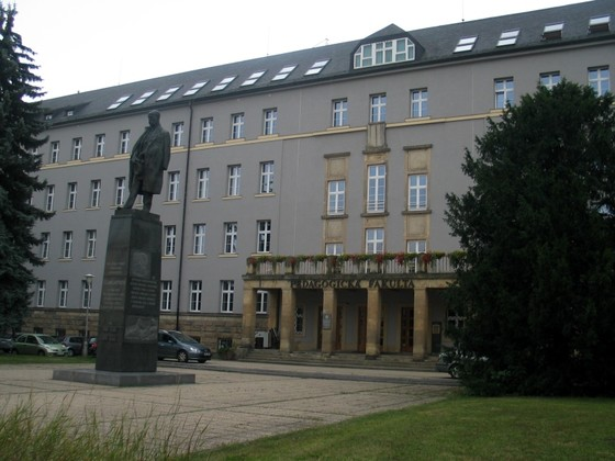 Old building of Faculty of Eduxation